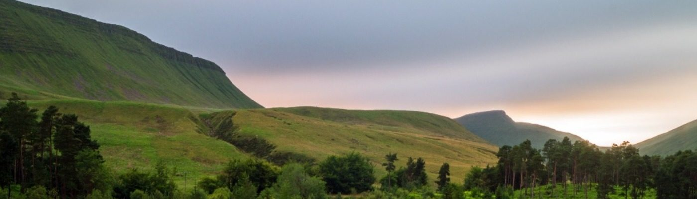 UK Walking Locations - The Brecon Beacons National Park
