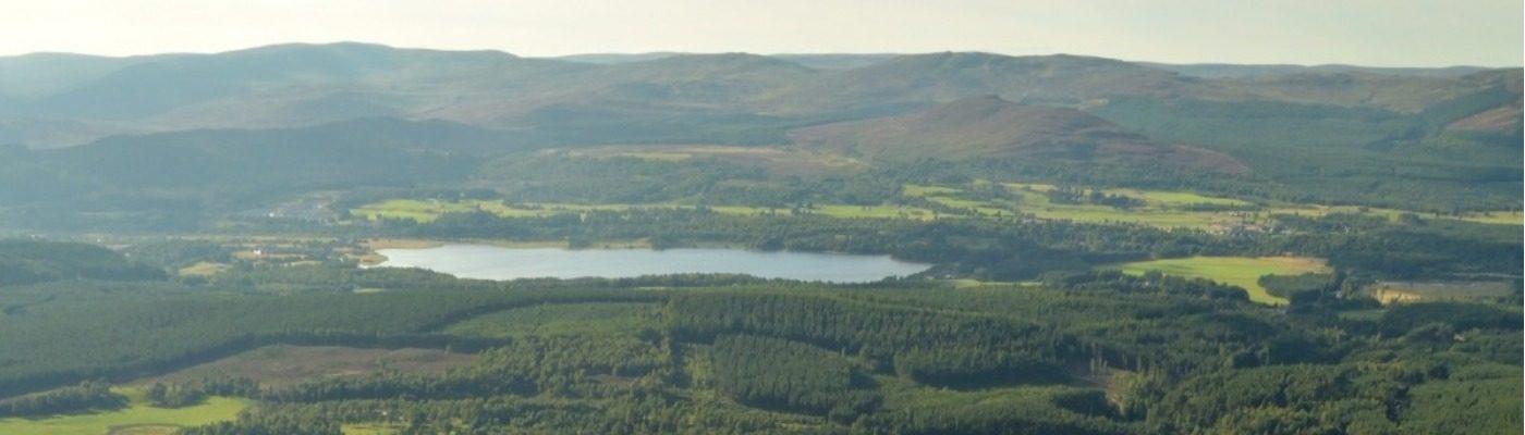 UK Walking Locations - The Cairngorm National Park