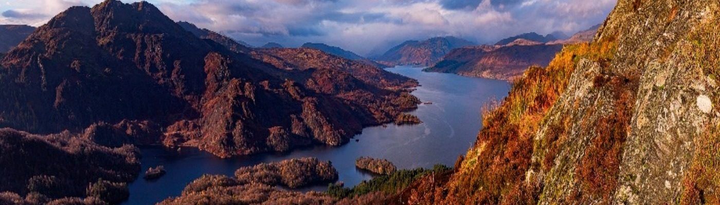 UK Walking Locations - Loch Lomond and The Trossachs National Park