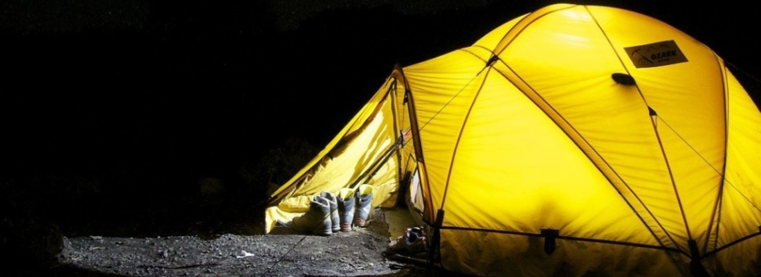 How to Keep Warm Inside Your Tent When Camping In The Winter